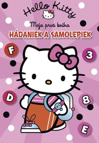 Hello Kitty Moja prvá kniha hádaniek a samolepiek