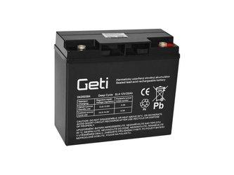 Baterie olověná 12V 20Ah Geti pro elektromotory