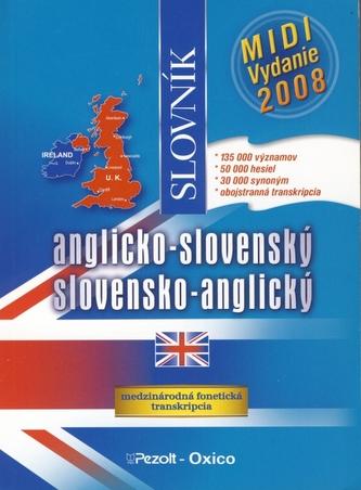 Anglicko-slovenský slovensko-anglický slovník