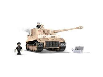 Stavebnice COBI 2519 Small Army II WW Tiger I nr 131, 550 k, 2 f