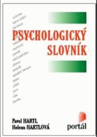 Psychologický slovník - Pavel Hartl
