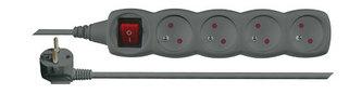 Prodlužovací přívod 4 zásuvky 3m EMOS PC1413