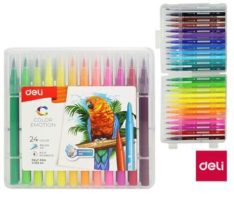 Fix DELI štětečkový 24 barev Color Emotion EC10324