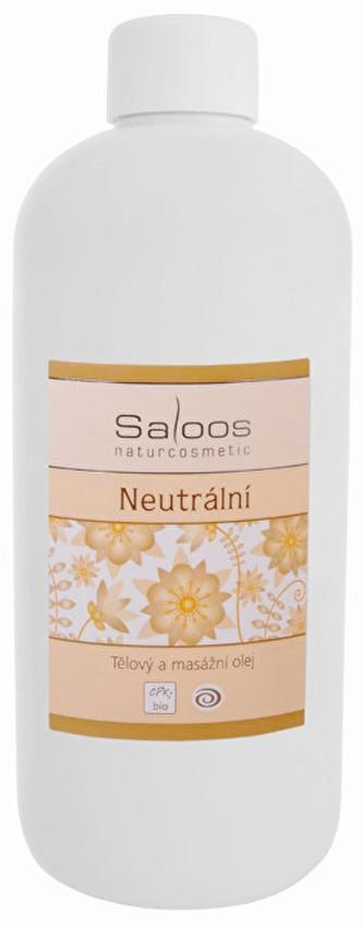 Saloos Bio tělový a masážní olej - Neutrální 500 ml
