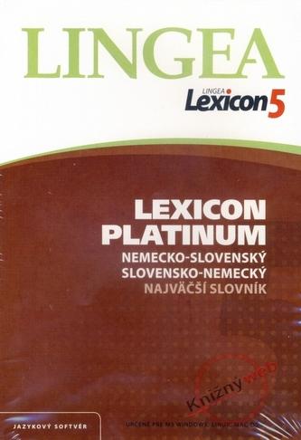 Lexicon5 Platinum nemecko-slovenský slovensko-nemecký najväčší slovník