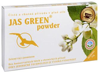 Čaje Hannasaki Jas Green powder - jasmínový zelený čaj 75 g