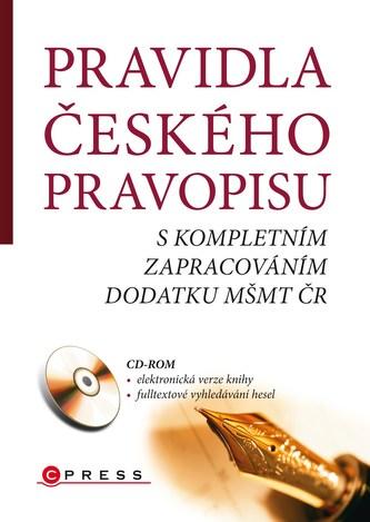 Pravidla českého pravopisu s kompletním zapracováním dodatku MŠMT ČR - Náhled učebnice