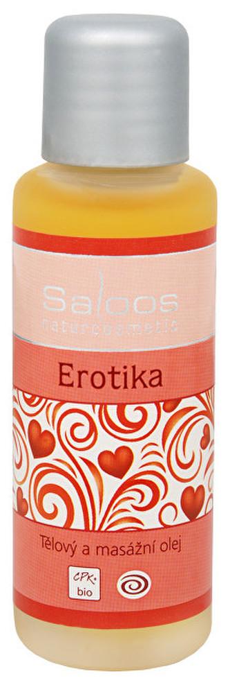 Saloos Bio tělový a masážní olej - Erotika 500 ml