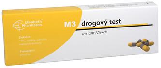 Phoenix Drogový test M-3 Multipanel Instant-View 1 ks