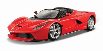 Bburago 1:24 Ferrari La Ferrari Aperta Red
