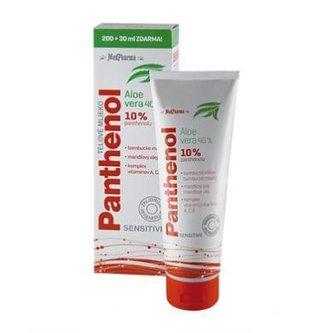 MedPharma Panthenol 10 % Sensitive tělové mléko s aloe vera 230 ml