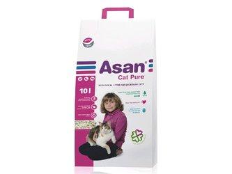 Podestýlka ASAN CAT PURE, 10L