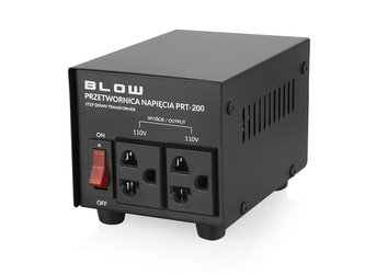 Měnič napětí BLOW 230V/110V 200W