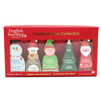 English Tea Shop Vánoční stromek - kolekce 10 pyramidek, 5 příchutí
