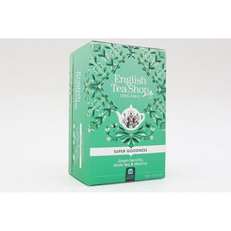 English Tea Shop Sencha, Bílý čaj a Matcha 20 sáčků
