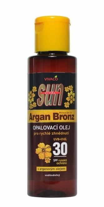 SUN Arganový opalovací olej OF 30 100 ml