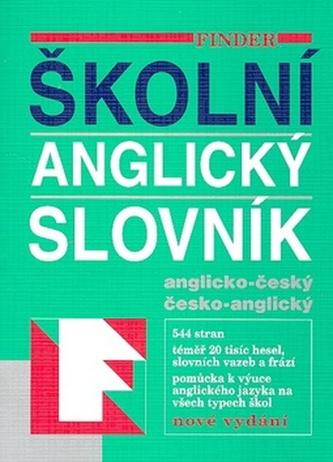 Anglicko-český česko-anglický slovník školní
