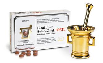 Pharma Nord Bioaktivní Selen+Zinek FORTE 60 tablet