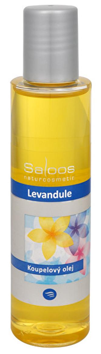 Saloos Koupelový olej - Levandule 250 ml