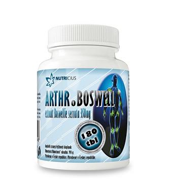 Nutricius Arthr.boswell 180 tbl.