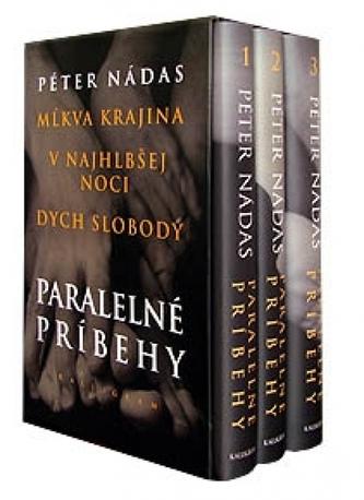Komplet 3ks Paralelné príbehy I. - III.