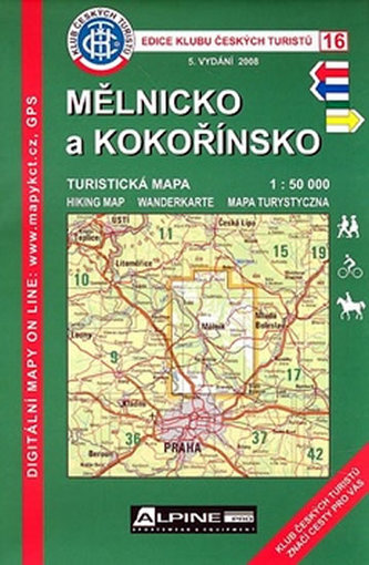 KČT 16 Mělnicko a Kokořínkso