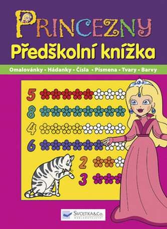 Princezny Předškolní knížka