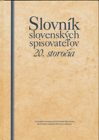 Slovník slovenských spisovatežov 20. storočia