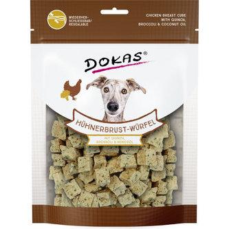 Dokas - Kuřecí kostky s quinoou a brokolicí 150 g