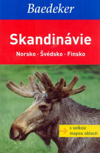 Skandinávie Norsko Švédsko Finsko Baedeker
