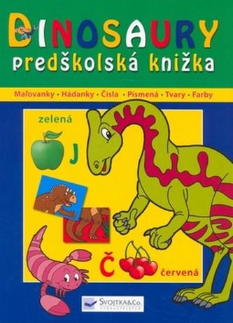 Dinosaury predškolská knižka