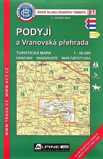 KČT 81 Podyjí  Vranovská přehrada
