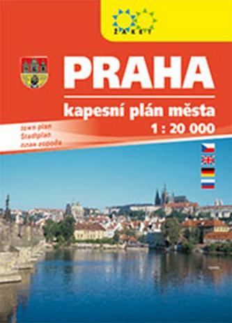 Praha kapesní plán