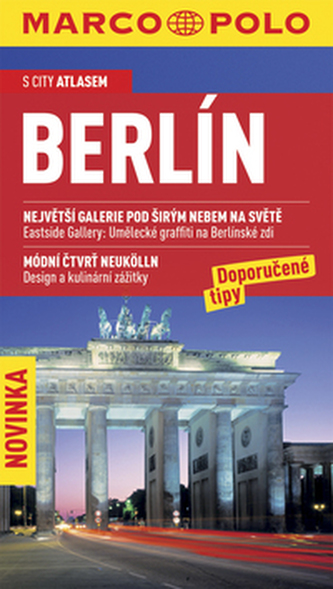 Berlín s city atlasem