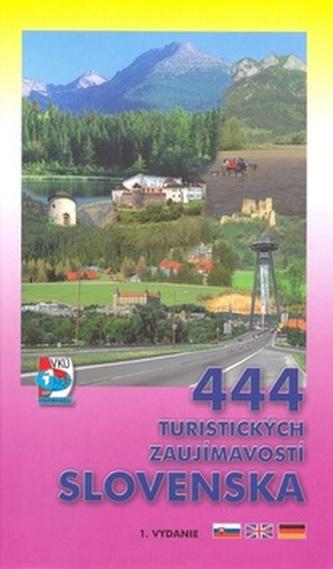 444 turistických zaujímavostí Slovenska