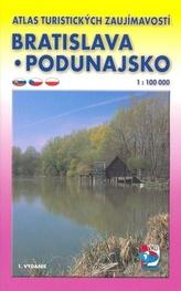 Bratislavsko Podunajsko 1 : 100 000