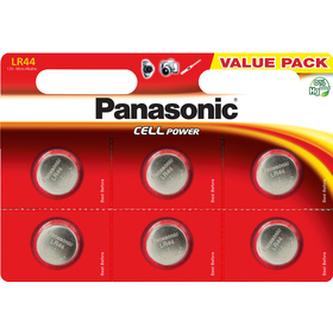 Baterie PANASONIC A76/LR44/V13GA 6BP