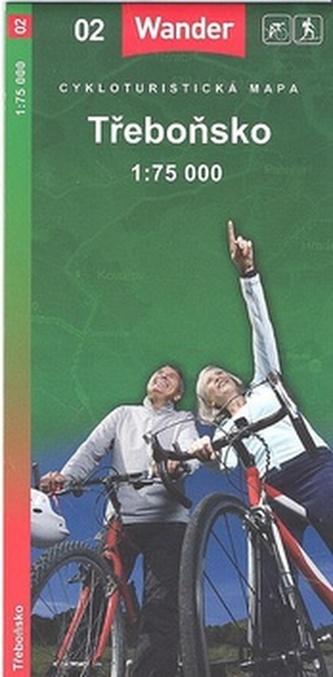 Třeboňsko 1:75 000
