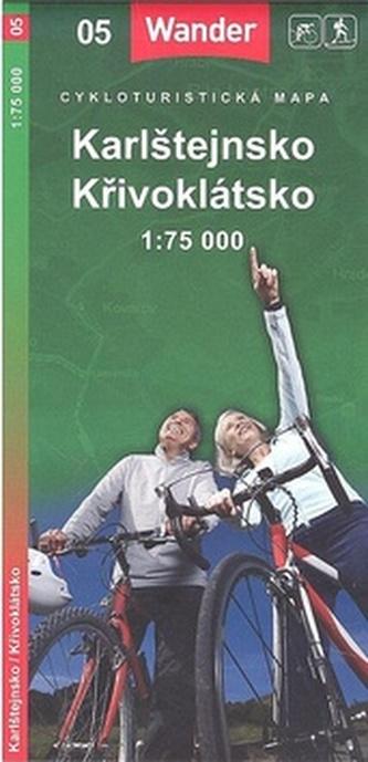 Karlštejnsko Křivoklátsko 1:75 000
