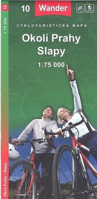 Okolí Prahy Slapy 1:75 000