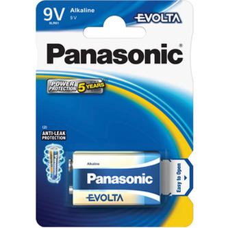 Baterie PANASONIC 6LR61 1BP 9V Evolta