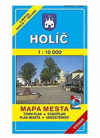 Holíč Mapa mesta Town plan Stadtplan Plan miasta Várostérkép