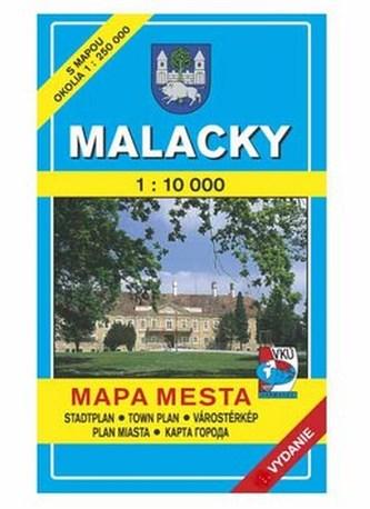 Malacky Mapa mesta Town plan Stadtplan Plan miasta Várostérkép