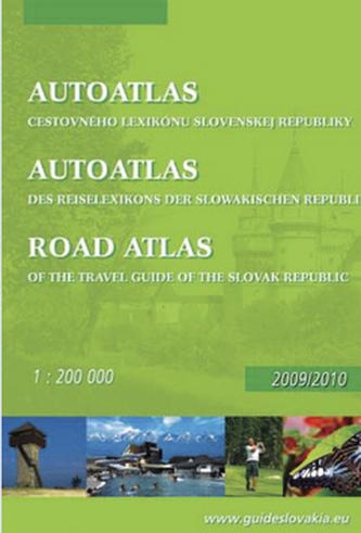 Autoatlas cestovného lexikónu Slovenskej republiky 1: 200 000 Road atlas