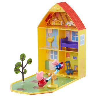 PEPPA PIG - domeček se zahrádkou, figurkou a příslušenstvím