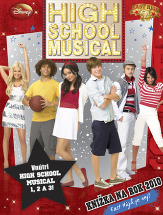 High School Musical Knižka na rok 2010