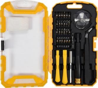 Šroubovák s nástavci a nástroji pro mobilní telefony sada 32ks