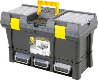 """Box na nářadí plastový 20\"""" + 3x zásuvka"""