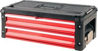 Skříňka na nářadí, 2x zásuvka, komponent k YT-09101/2