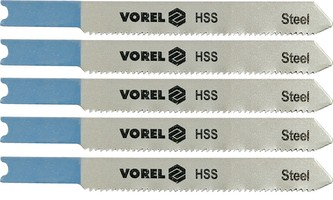 List do přímočaré pily 76 mm na kov a Al TPI24 5 ks